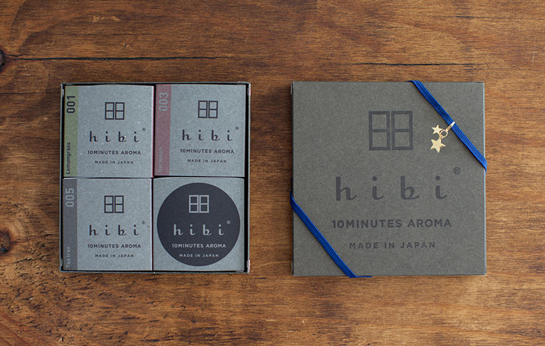 product hibi 10minutes aroma made in japan